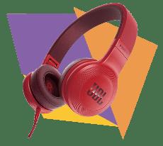 HeadPhone JBL Vermelho