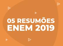 Os resumões ENEM 2019