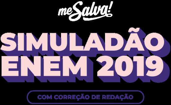 Simuladão ENEM 2019 com correção de redação